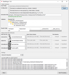 data merger software screenshot